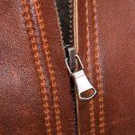 Calgary Ladies Tan Leather Biker Jacket