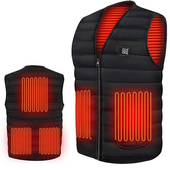 Autumn Winter Smart Heating Cotton Vest for Men and Women
