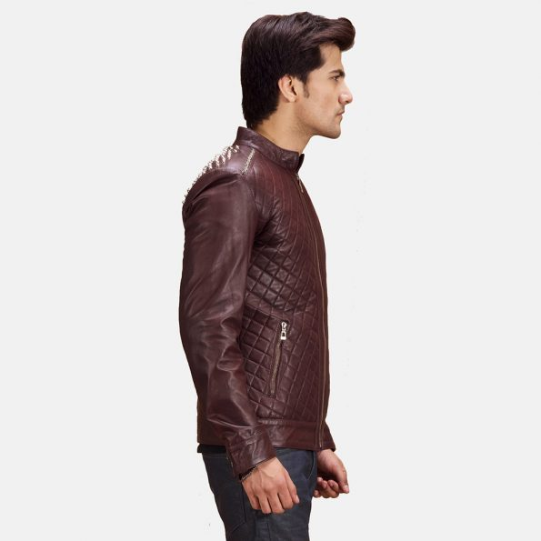 Maroon-Studded-Quilt-Jacket-Zoom-Extra-1491403476164.jpg