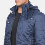 Alps Quilted Blue Windbreaker Jacket