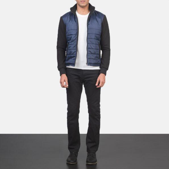 Nashville Quilted Blue Windbreaker Jacket