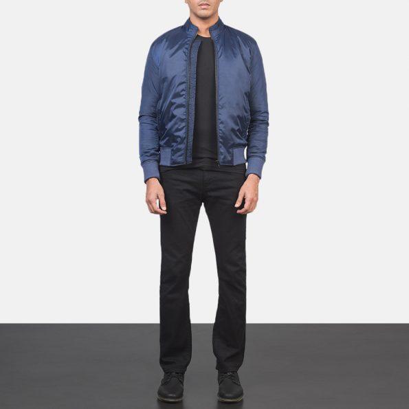 Ramon Blue Bomber Jacket