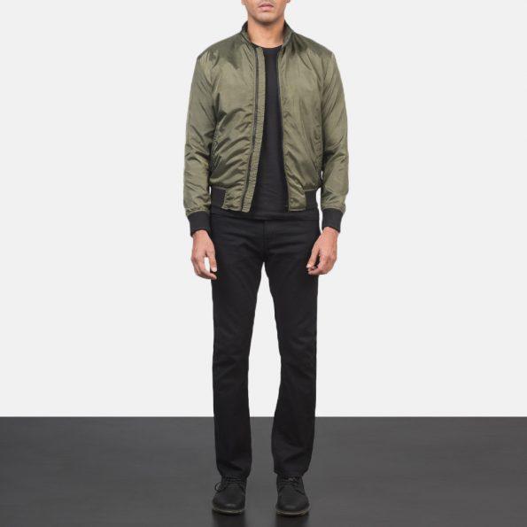Ramon Green Bomber Jacket