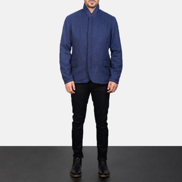 Thomas Blue Wool Jacket