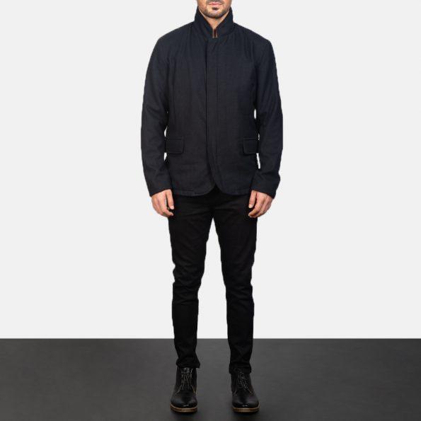 Thomas Black Wool Jacket