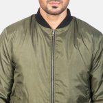 Zack Green Bomber Jacket