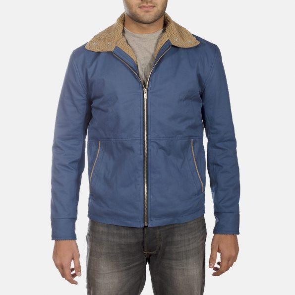 Terry Blue Winter Jacket