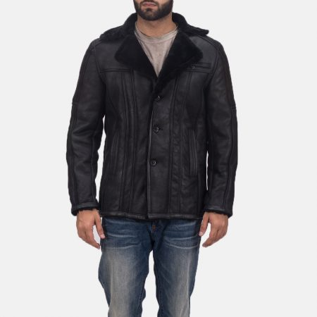 Furcliff Double Face Shearling Leather Coat