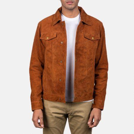 Stallon Brown Suede Jacket