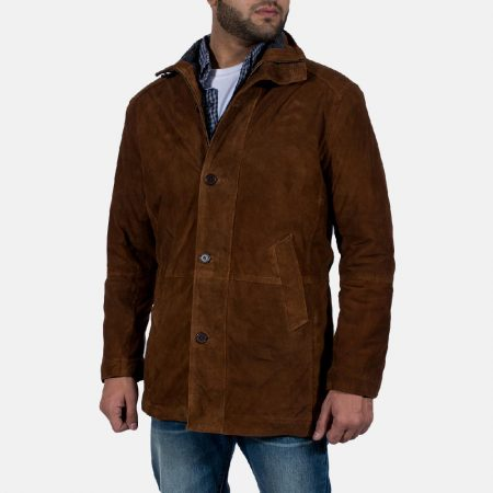 Sheriff Brown Suede Jacket